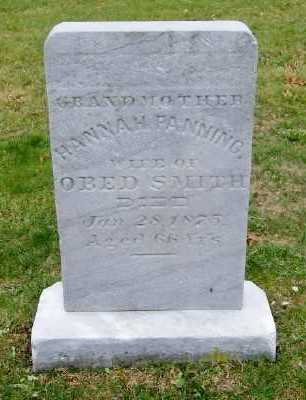 FANNING, HANNAH - Suffolk County, New York | HANNAH FANNING - New York Gravestone Photos
