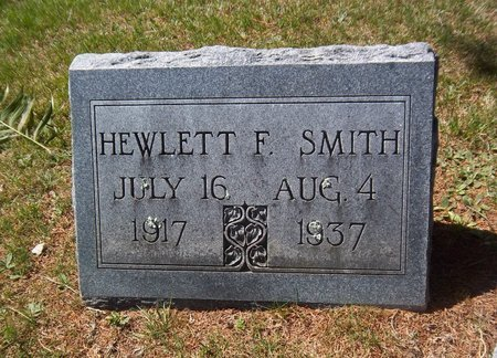SMITH, HEWLETT F - Suffolk County, New York | HEWLETT F SMITH - New York Gravestone Photos