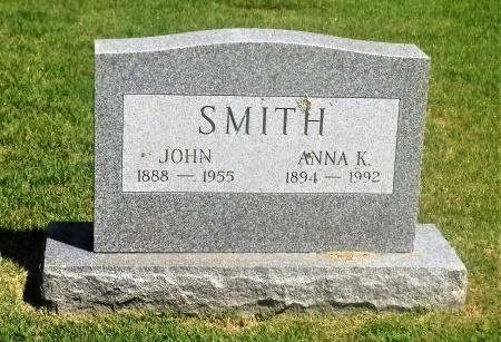SMITH, ANNA K - Suffolk County, New York | ANNA K SMITH - New York Gravestone Photos