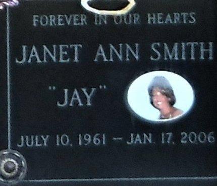 SMITH, JANET ANN - Suffolk County, New York | JANET ANN SMITH - New York Gravestone Photos