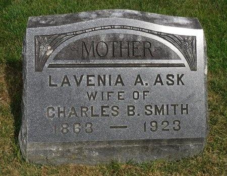 ASK SMITH, LAVINIA A - Suffolk County, New York | LAVINIA A ASK SMITH - New York Gravestone Photos