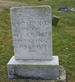 SMITH, MYRTLE - Suffolk County, New York | MYRTLE SMITH - New York Gravestone Photos
