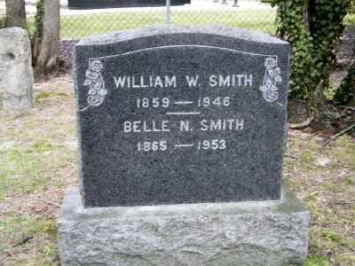 SMITH, WILLIAM W - Suffolk County, New York | WILLIAM W SMITH - New York Gravestone Photos