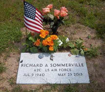 SOMMERVILLE, RICHARD A - Suffolk County, New York | RICHARD A SOMMERVILLE - New York Gravestone Photos