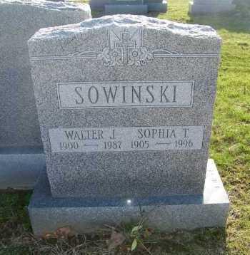 SOWINSKI, SOPHIA T. - Suffolk County, New York | SOPHIA T. SOWINSKI - New York Gravestone Photos