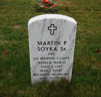 SOYKA, MARTIN P, SR - Suffolk County, New York | MARTIN P, SR SOYKA - New York Gravestone Photos