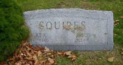 SQUIRES, ALICE R. - Suffolk County, New York | ALICE R. SQUIRES - New York Gravestone Photos