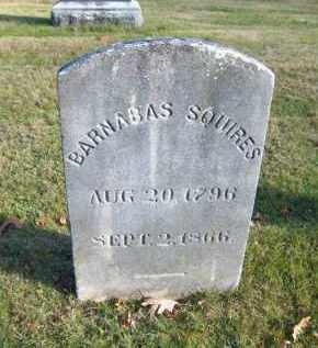 SQUIRES, BARNABAS - Suffolk County, New York | BARNABAS SQUIRES - New York Gravestone Photos