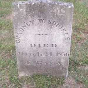 SQUIRES, CHAUNCY W. - Suffolk County, New York | CHAUNCY W. SQUIRES - New York Gravestone Photos