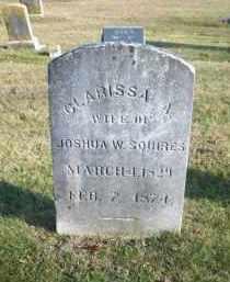 SQUIRES, CLARISSA A - Suffolk County, New York | CLARISSA A SQUIRES - New York Gravestone Photos