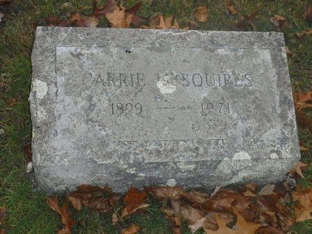 SQUIRES, CARRIE M - Suffolk County, New York | CARRIE M SQUIRES - New York Gravestone Photos