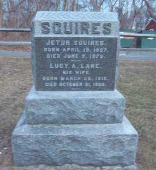 SQUIRES, JETUR - Suffolk County, New York | JETUR SQUIRES - New York Gravestone Photos