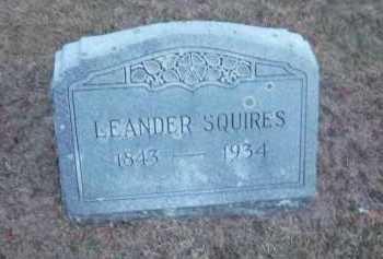 SQUIRES, LEANDER - Suffolk County, New York | LEANDER SQUIRES - New York Gravestone Photos