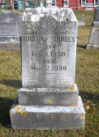 SQUIRES, ROGERS F. - Suffolk County, New York | ROGERS F. SQUIRES - New York Gravestone Photos