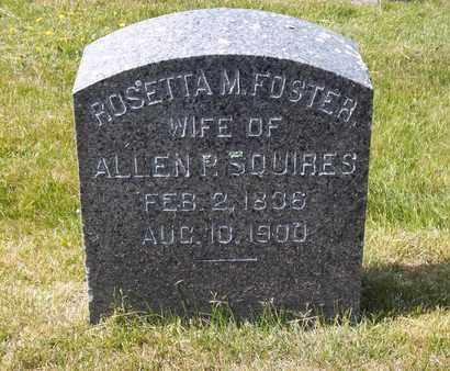 SQUIRES, ROSETTA M - Suffolk County, New York   ROSETTA M SQUIRES - New York Gravestone Photos