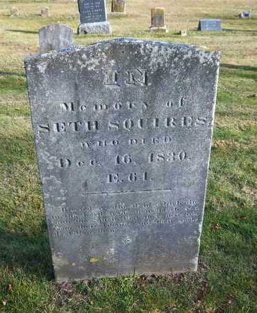 SQUIRES, SETH - Suffolk County, New York   SETH SQUIRES - New York Gravestone Photos