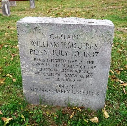 SQUIRES, WILLIAM H - Suffolk County, New York | WILLIAM H SQUIRES - New York Gravestone Photos