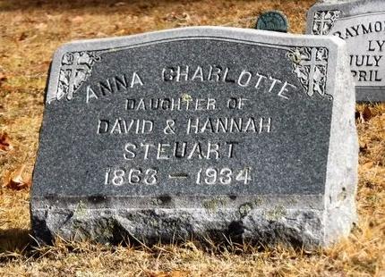 STEUART, ANNA CHARLOTTE - Suffolk County, New York | ANNA CHARLOTTE STEUART - New York Gravestone Photos