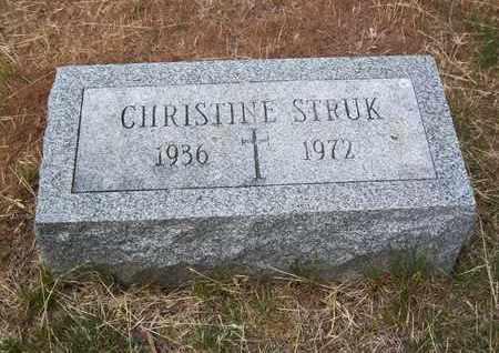 STRUK, CHRISTINE - Suffolk County, New York | CHRISTINE STRUK - New York Gravestone Photos