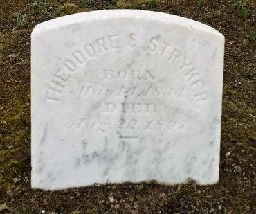 STRYKER, THEODORE C - Suffolk County, New York | THEODORE C STRYKER - New York Gravestone Photos