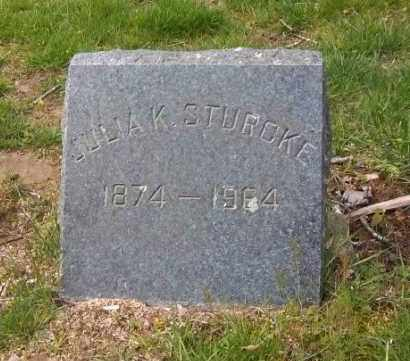 STURCKE, JULIA K. - Suffolk County, New York | JULIA K. STURCKE - New York Gravestone Photos