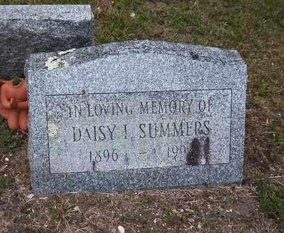 SUMMERS, DAISY I - Suffolk County, New York | DAISY I SUMMERS - New York Gravestone Photos