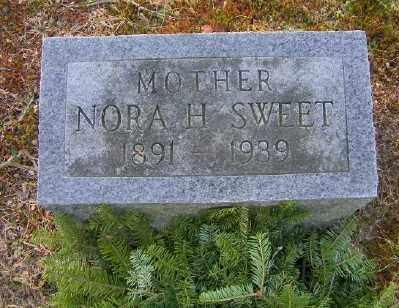 SWEET, NORA H - Suffolk County, New York | NORA H SWEET - New York Gravestone Photos