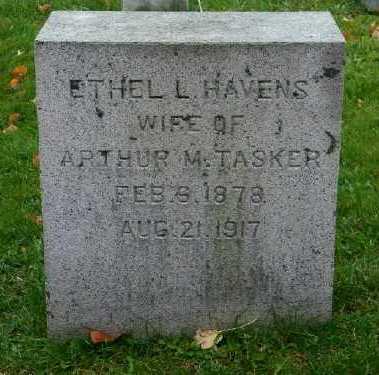TASKER, ETHEL L - Suffolk County, New York   ETHEL L TASKER - New York Gravestone Photos