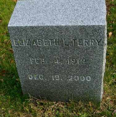 TERRY, ELIZABETH L. - Suffolk County, New York | ELIZABETH L. TERRY - New York Gravestone Photos