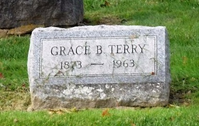 TERRY, GRACE B - Suffolk County, New York | GRACE B TERRY - New York Gravestone Photos