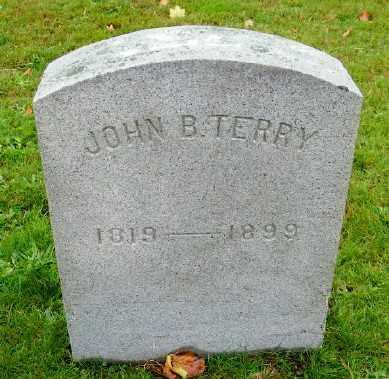 TERRY, JOHN B - Suffolk County, New York | JOHN B TERRY - New York Gravestone Photos