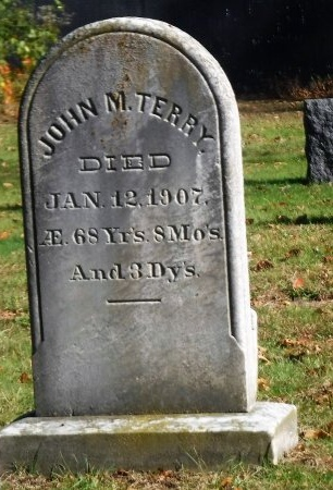 TERRY, JOHN M - Suffolk County, New York   JOHN M TERRY - New York Gravestone Photos