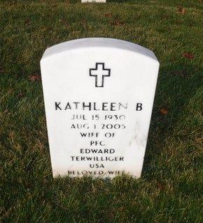 TERWILLIGER, KATHLEEN B - Suffolk County, New York | KATHLEEN B TERWILLIGER - New York Gravestone Photos