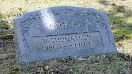 THOMASSON, W - Suffolk County, New York | W THOMASSON - New York Gravestone Photos