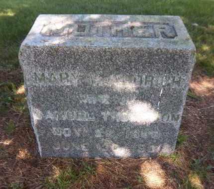 ALDRICH THOMPSON, MARY V - Suffolk County, New York | MARY V ALDRICH THOMPSON - New York Gravestone Photos