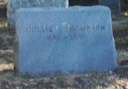 THOMPSON, MOLLIE O - Suffolk County, New York | MOLLIE O THOMPSON - New York Gravestone Photos