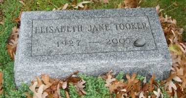 TOOKER, ELISABETH JANE - Suffolk County, New York | ELISABETH JANE TOOKER - New York Gravestone Photos