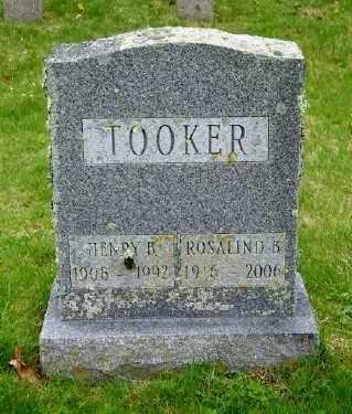 TOOKER, HENRY B - Suffolk County, New York | HENRY B TOOKER - New York Gravestone Photos