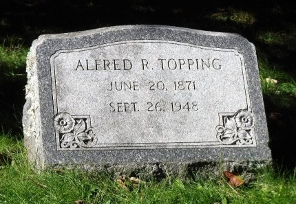 TOPPING, ALFRED R - Suffolk County, New York | ALFRED R TOPPING - New York Gravestone Photos
