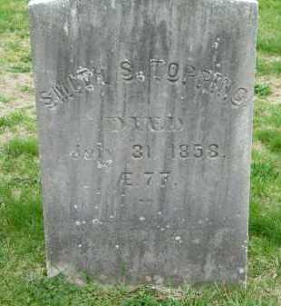 TOPPING, SMITH S. - Suffolk County, New York   SMITH S. TOPPING - New York Gravestone Photos