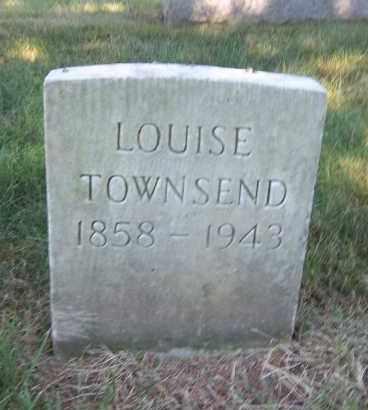 TOWNSEND, LOUISE - Suffolk County, New York   LOUISE TOWNSEND - New York Gravestone Photos