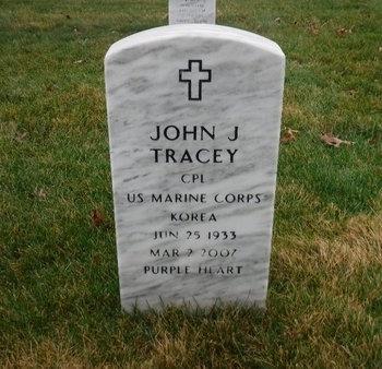 TRACEY (KOR), JOHN J - Suffolk County, New York | JOHN J TRACEY (KOR) - New York Gravestone Photos