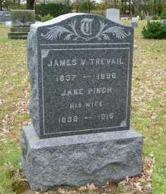 PINCH TREVAIL, JANE - Suffolk County, New York | JANE PINCH TREVAIL - New York Gravestone Photos