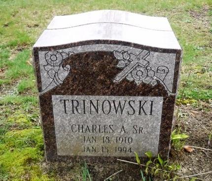 TRINOWSKI, CHARLES A - Suffolk County, New York | CHARLES A TRINOWSKI - New York Gravestone Photos