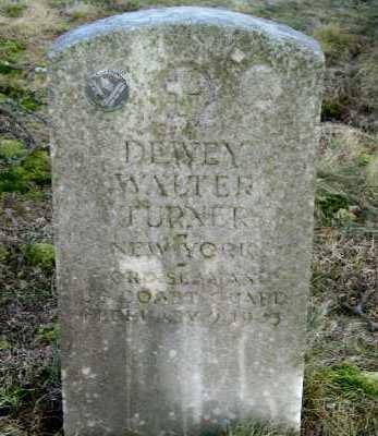 TURNER, DEWEY WALTER - Suffolk County, New York | DEWEY WALTER TURNER - New York Gravestone Photos