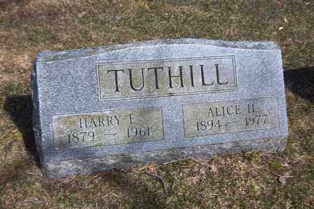 TUTHILL, HARRY E - Suffolk County, New York | HARRY E TUTHILL - New York Gravestone Photos