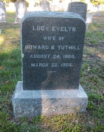 TUTHILL, LUCY EVELYN - Suffolk County, New York | LUCY EVELYN TUTHILL - New York Gravestone Photos