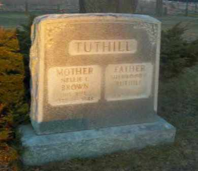 TUTHILL, NELLIE L. - Suffolk County, New York | NELLIE L. TUTHILL - New York Gravestone Photos