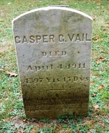 VAIL, GASPER G - Suffolk County, New York | GASPER G VAIL - New York Gravestone Photos