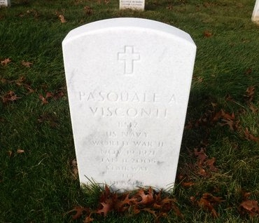 VISCONTI (WWII), PASQUALE A - Suffolk County, New York | PASQUALE A VISCONTI (WWII) - New York Gravestone Photos